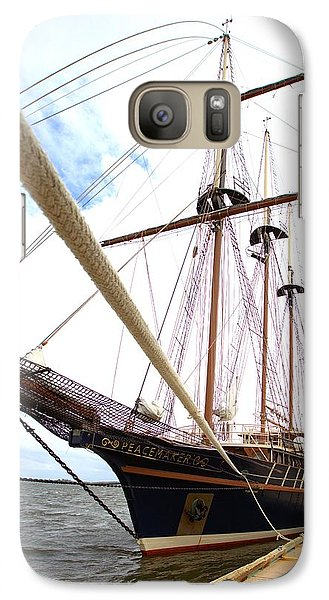 Galaxy Case featuring the photograph Peacemaker by Gordon Elwell