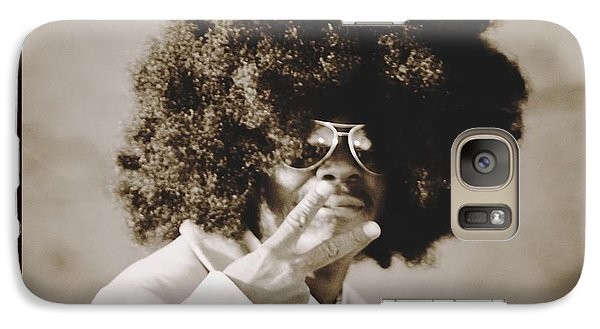 Galaxy Case featuring the photograph Peaceman by Alice Gipson