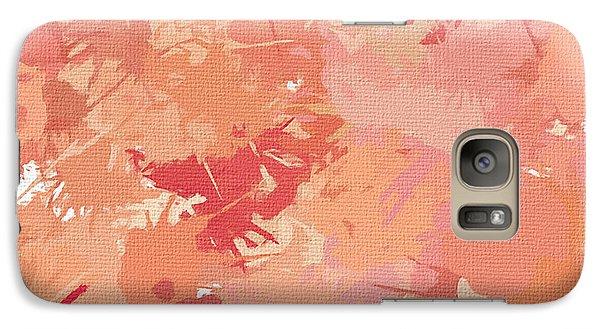 Peach Galore Galaxy S7 Case by Lourry Legarde