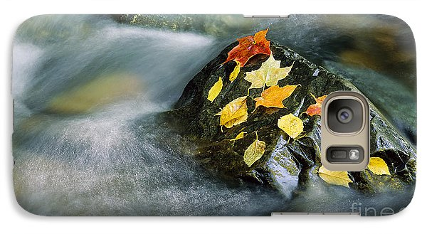 Galaxy Case featuring the photograph Peacham Brook In Fall by Alan L Graham