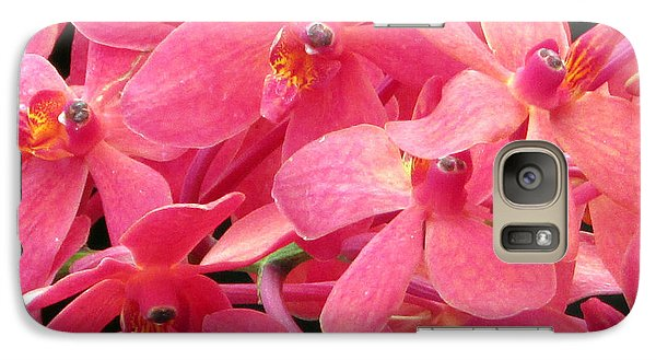 Galaxy Case featuring the photograph Peaches And Cream by Debi Singer
