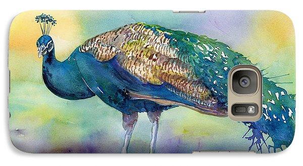 Peacock Galaxy S7 Case - Peacock by Amy Kirkpatrick