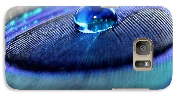 Peacock Galaxy S7 Case - Peacock Globe by Krissy Katsimbras