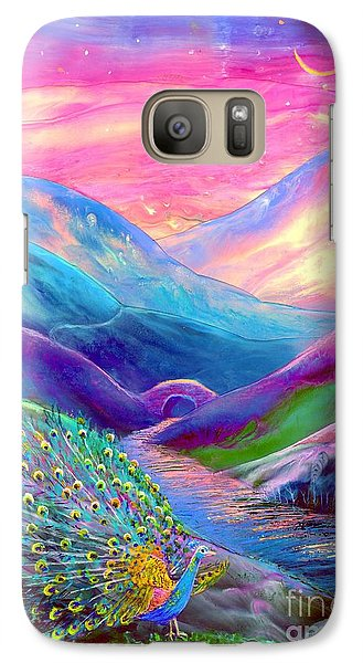 Magician Galaxy S7 Case - Peacock Magic by Jane Small