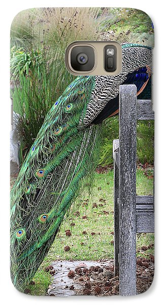 Peacock Galaxy S7 Case - Peacock by Nicholas Burningham