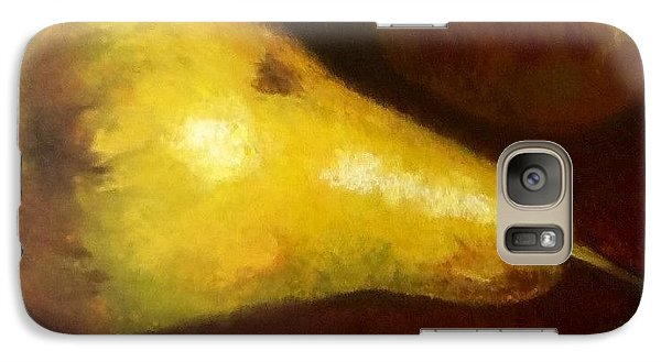 Galaxy Case featuring the painting Pears by Cindy Plutnicki