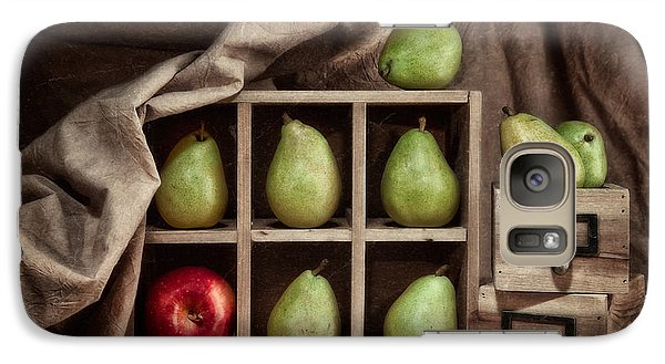Apple Galaxy S7 Case - Pears On Display Still Life by Tom Mc Nemar