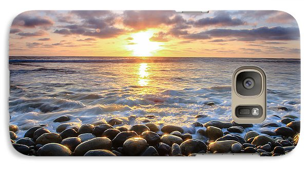Galaxy Case featuring the photograph Pebble Beach by Robert  Aycock