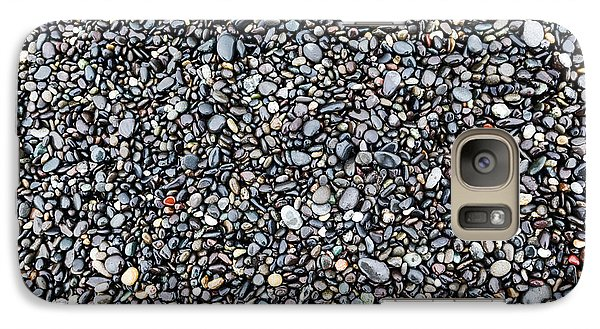 Galaxy Case featuring the photograph Pebbles by Charles Lupica