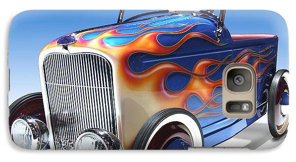Galaxy Case featuring the photograph Peddle Car by Mike McGlothlen