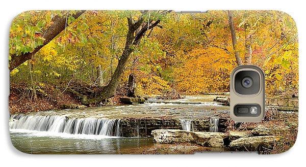Galaxy Case featuring the photograph Pedelo Falls by Deena Stoddard
