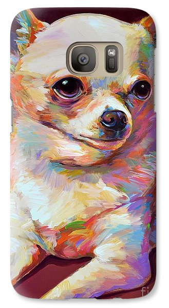 Galaxy Case featuring the painting Pedro by Robert Phelps