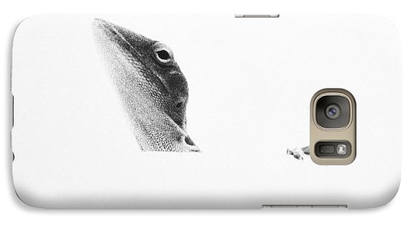 Galaxy Case featuring the photograph Peek-a-boo by Barbara Dudley