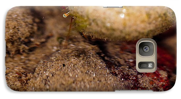 Galaxy Case featuring the photograph Peek A Boo by Carole Hinding