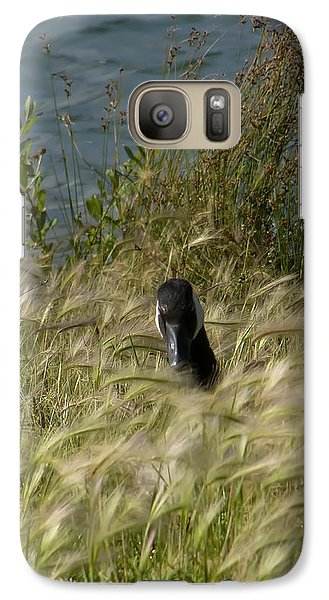 Galaxy Case featuring the photograph Peek-a-boo by Rhonda McDougall