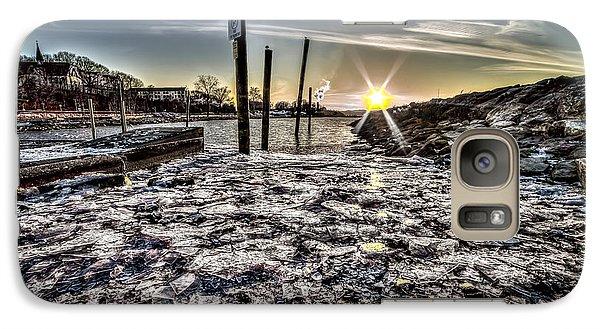 Galaxy Case featuring the photograph Peekskill Ny Sunset by Rafael Quirindongo