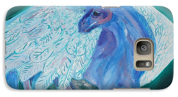 Galaxy Case featuring the painting Pegasus by Cassandra Buckley