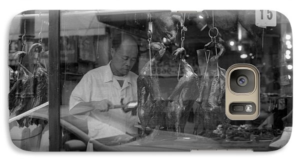 Galaxy Case featuring the photograph Peking Duck by Luis Esteves