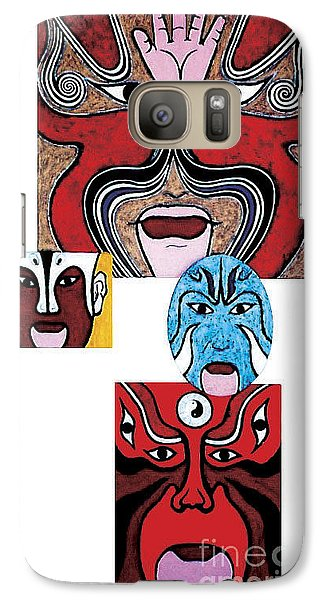 Galaxy Case featuring the painting Peking Opera No.1 by Fei A