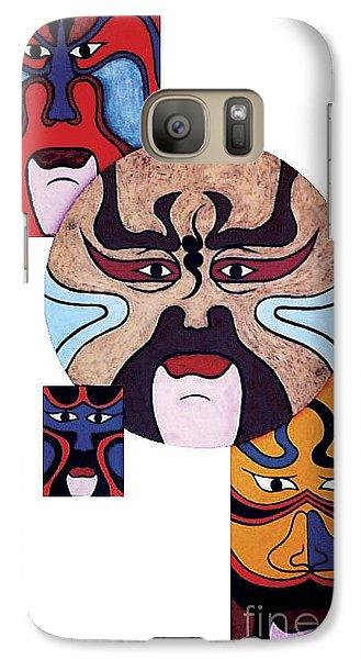 Galaxy Case featuring the painting Pekingopera No.2 by Fei A
