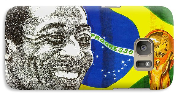 Pele Galaxy S7 Case by Cory Still