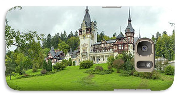 Peles Castle In The Carpathian Galaxy S7 Case by Panoramic Images