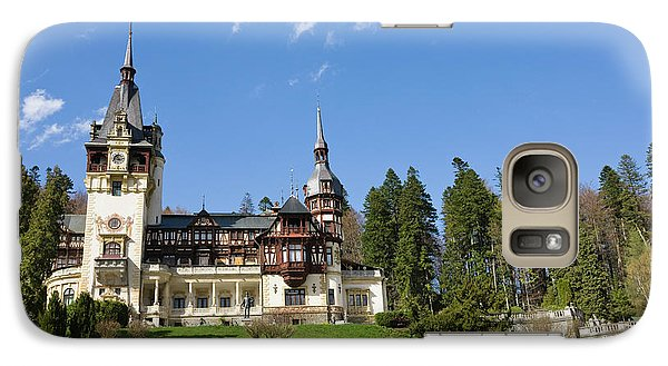 Peles Castle, Sinaia, Carpathian Galaxy S7 Case by Martin Zwick