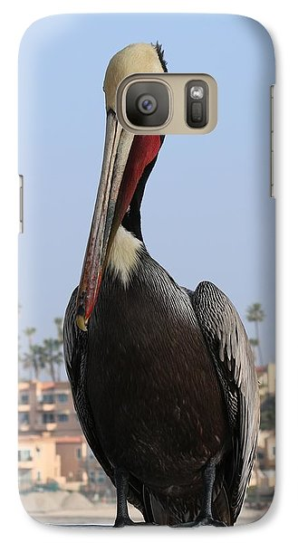 Galaxy Case featuring the photograph Pelican - 2  by Christy Pooschke