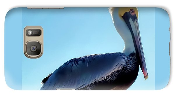 Galaxy Case featuring the photograph Pelican 1 by Dawn Eshelman