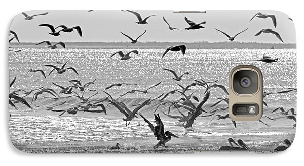 Pelican Chaos Galaxy Case by Betsy Knapp