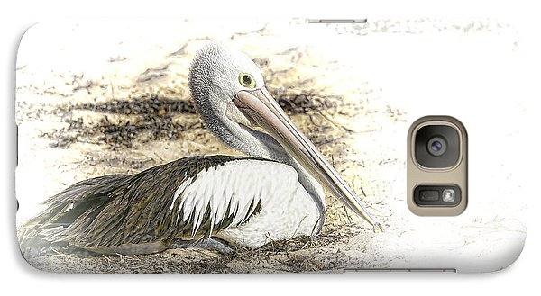 Galaxy Case featuring the photograph Pelican by Holly Kempe