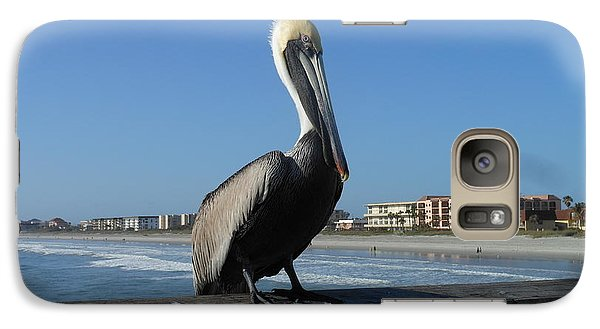 Galaxy Case featuring the photograph Pelican  by Kay Gilley