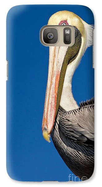 Galaxy Case featuring the photograph Pelican by Les Palenik