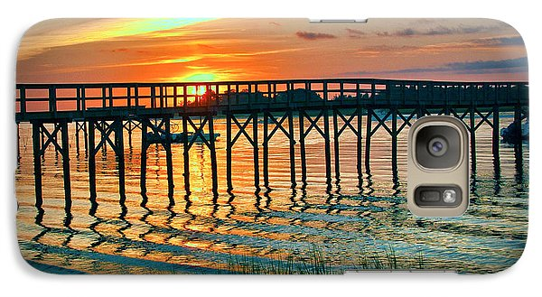 Galaxy Case featuring the photograph Pelican Point by Phil Mancuso