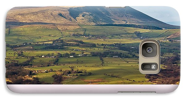 Galaxy Case featuring the photograph Pendle Hill Lancashire England by Jane McIlroy