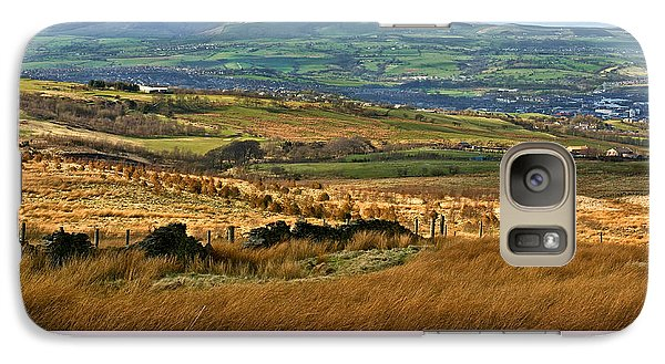 Galaxy Case featuring the photograph Pendle Hill Lancashire by Jane McIlroy
