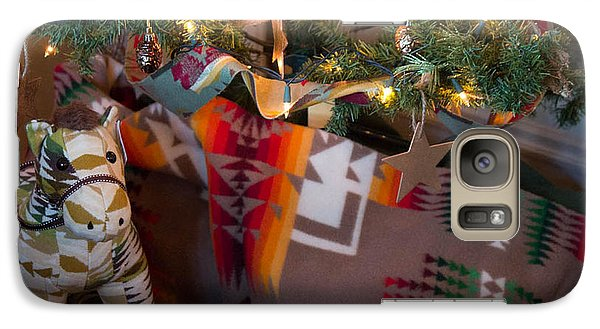 Galaxy Case featuring the photograph Pendleton Christmas by Patricia Babbitt