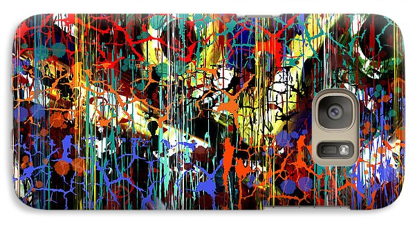 Galaxy Case featuring the painting Penman Original - 104 by Andrew Penman