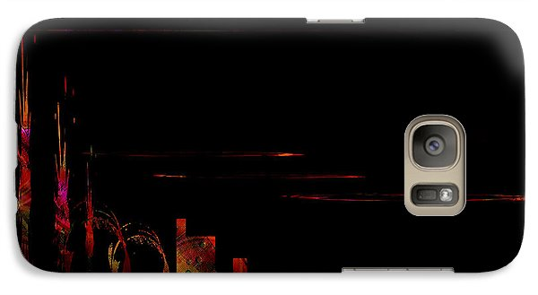 Galaxy Case featuring the painting Penman Original - 2 by Andrew Penman