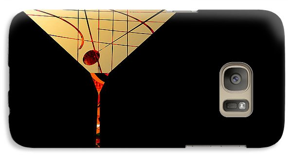 Galaxy Case featuring the painting Penman Original - Waiting by Andrew Penman