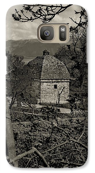 Galaxy Case featuring the photograph Penmon Priory Dovecot by Nigel Fletcher-Jones