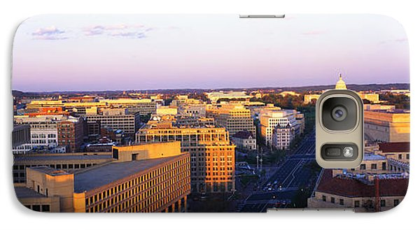 Pennsylvania Ave Washington Dc Galaxy S7 Case by Panoramic Images