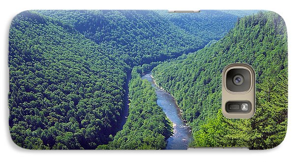 Galaxy Case featuring the photograph Pennsylvania Grand Canyon 2 by Tom Doud