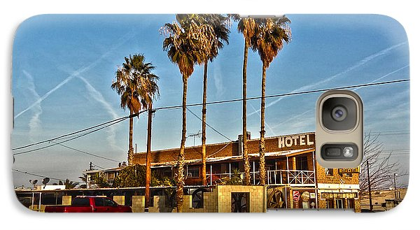 Galaxy Case featuring the photograph Penny Bar Mckittrick California by Lanita Williams