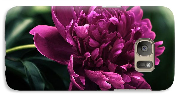 Galaxy Case featuring the photograph Peony 2014 by Marjorie Imbeau