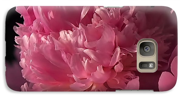 Galaxy Case featuring the photograph Peony by Rona Black
