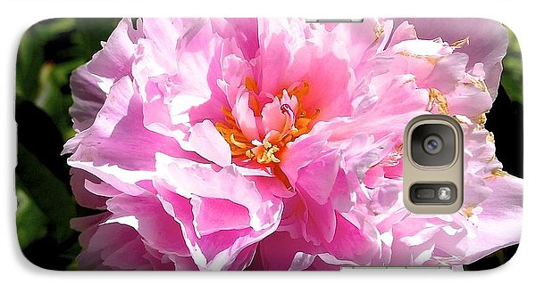 Galaxy Case featuring the photograph Peony by Sher Nasser
