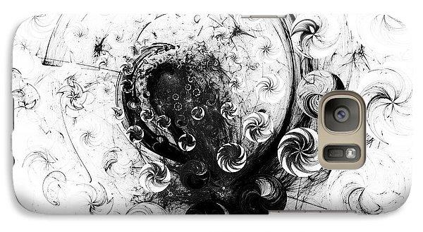 Galaxy Case featuring the digital art Peppermint Dream 1 by Arlene Sundby
