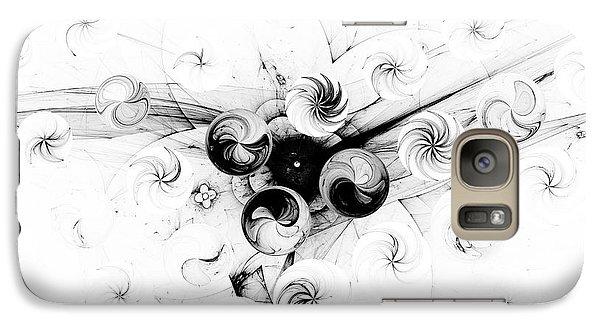 Galaxy Case featuring the digital art Peppermint Dream 2 by Arlene Sundby