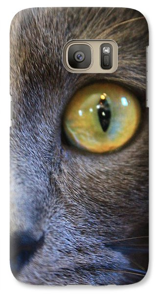 Galaxy Case featuring the photograph Pepper's Eye by Alicia Knust
